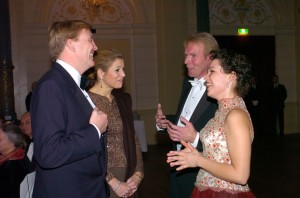 Concertgebouw Amsterdam with HRH Prince Willem Alexander and Princess Maxima